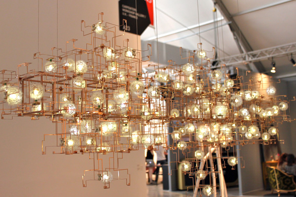 Good I Loved Some Of The Creative Lighting Solutions Found In Many Of The  Gallery Booths Amazing Ideas